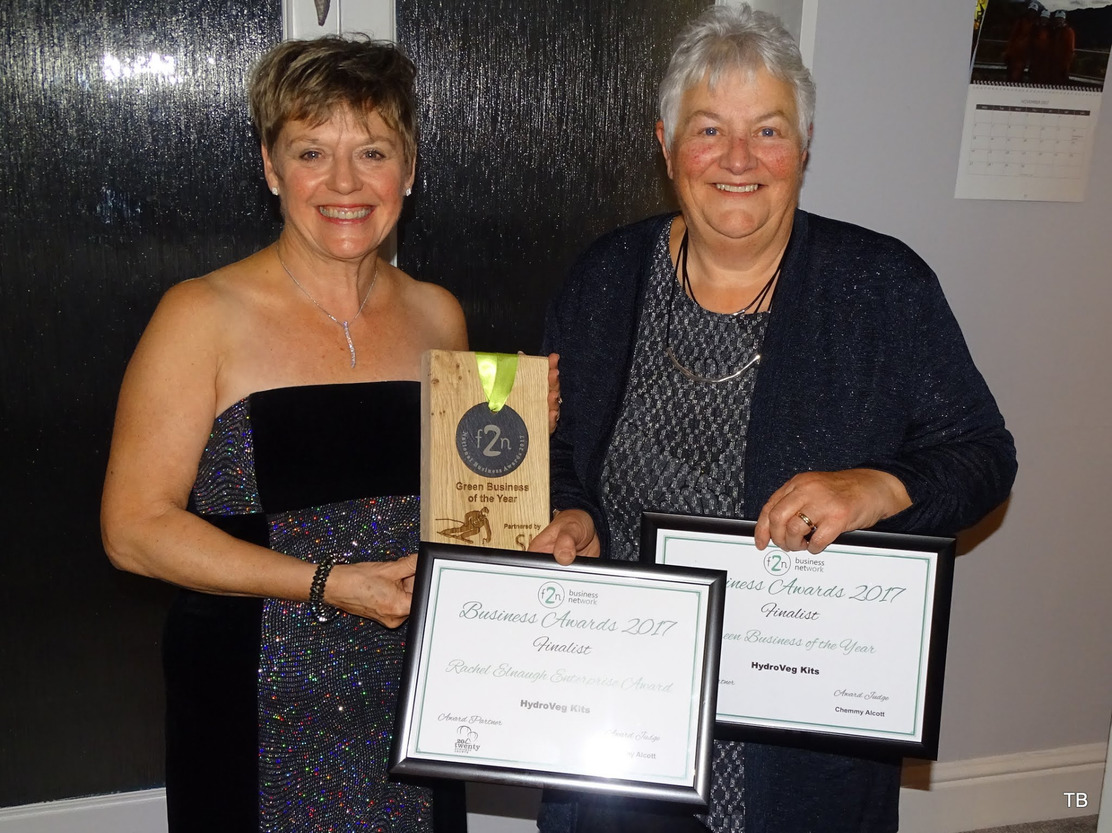 Green Business of the year with F2N in Wales