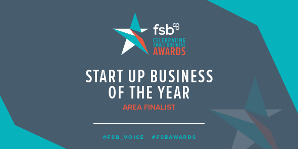 Start Up Business of the Year FSB Awards Nominee 2018